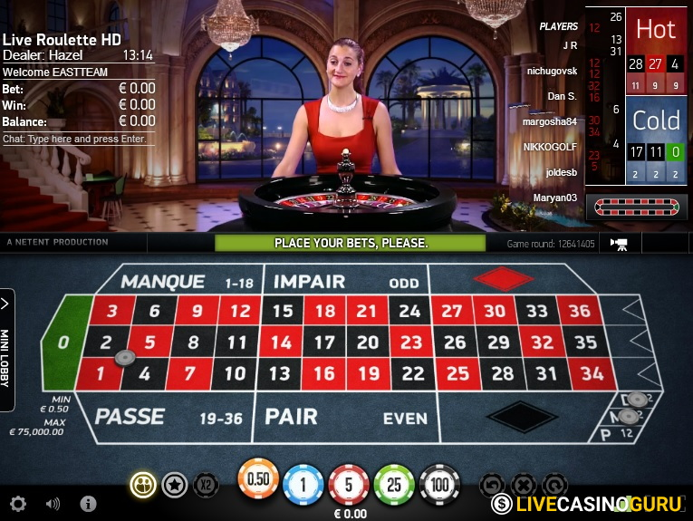 NetEnt | French Roulette