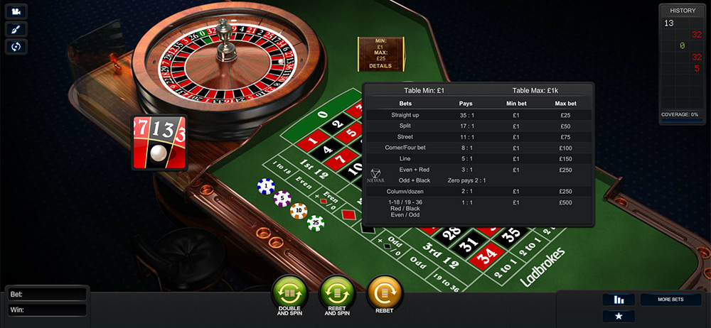 Playtech | NewAR Roulette Bets