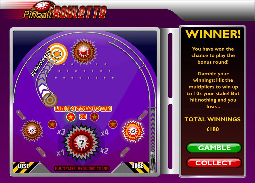 Ash Gaming   Pinball Roulette Bonus Round