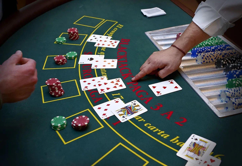 Double attack blackjack
