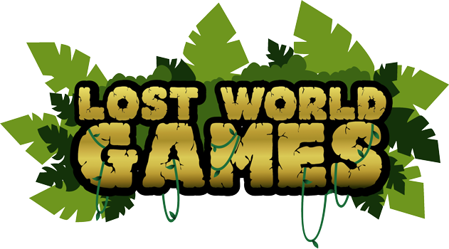 Lost World Games | Slots Logo
