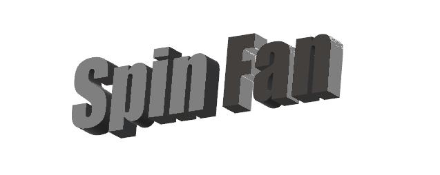 Spin Fan Slots Logo