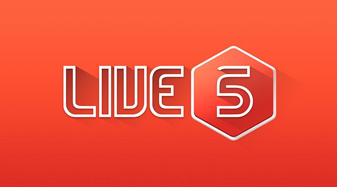 Live5 Gaming | Slots Logo