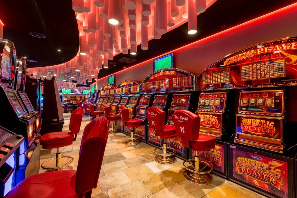 Slots Section, Casino Royale