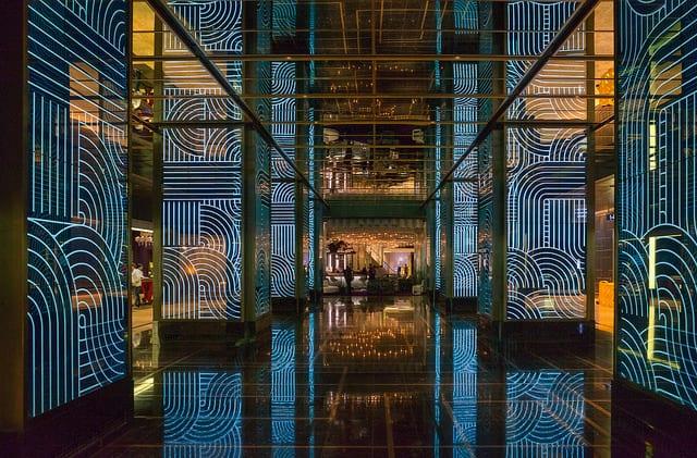 Cosmopolitan Las Vegas Hotel Lobby