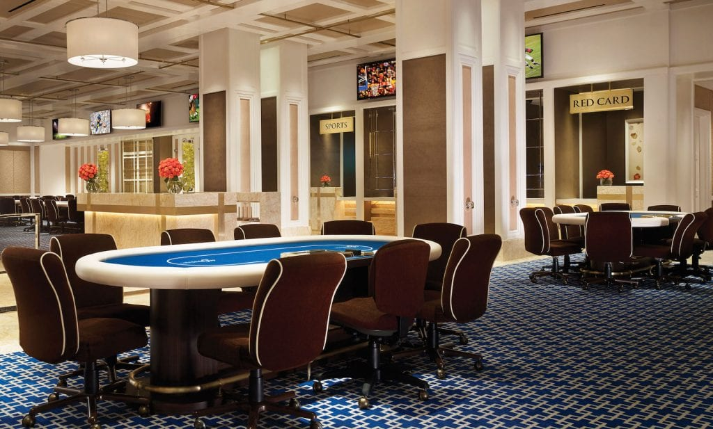 Encore Las Vegas Casino Table Games Area