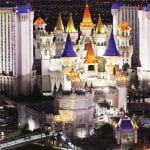 Excalibur Las Vegas Hotel and Casino, Night View