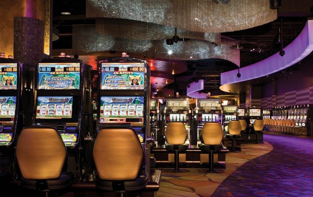 Harrah's Las Vegas Casino Slots area