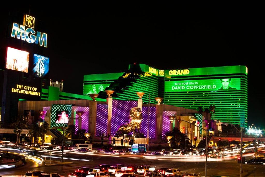 MGM Grand Hotel Casino in Las Vegas