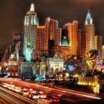 NEW YORK NEW YORK LAS VEGASnight vieww