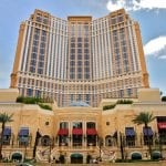 Palazzo Las Vegas Hotel and Casino front view