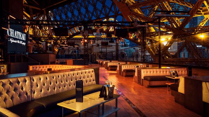 Paris Las Vegas Hotel Chateau Nightclub Bar