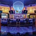 Planet Hollywood Blue Moon Bar