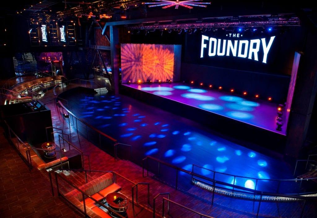 SLS Las Vegas The Foundry shows