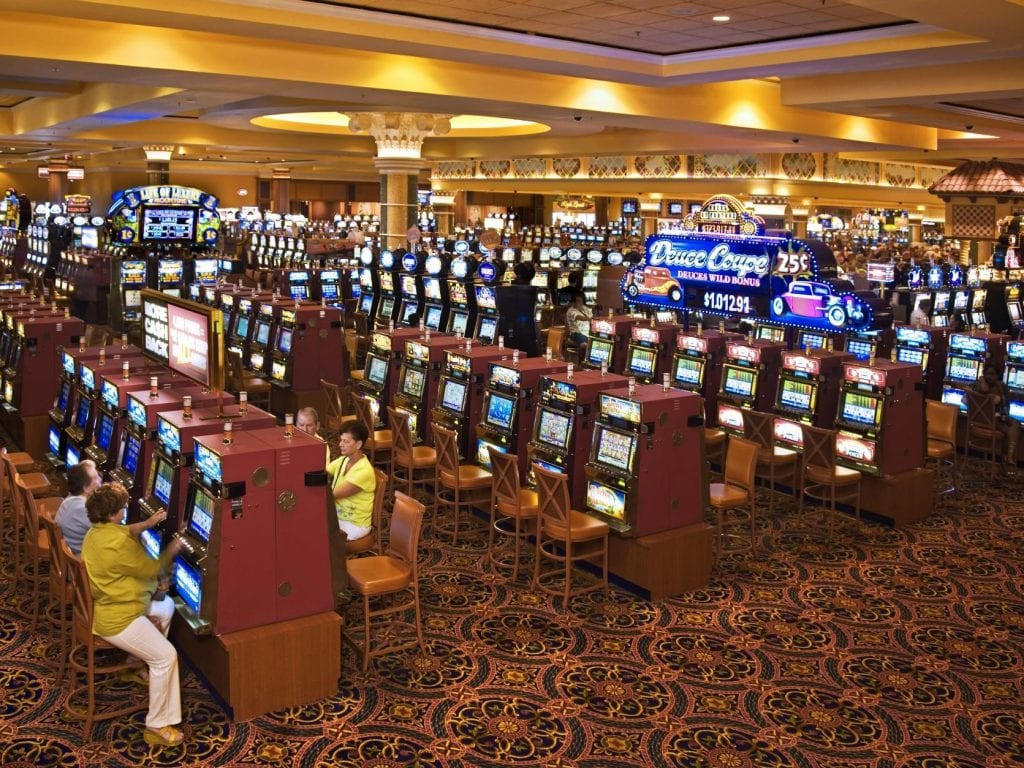 South Point Las Vegas Casino Slot Section