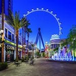 View of the High Roller