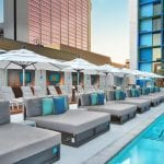 Sunbed and Pools, LINQ Hotel