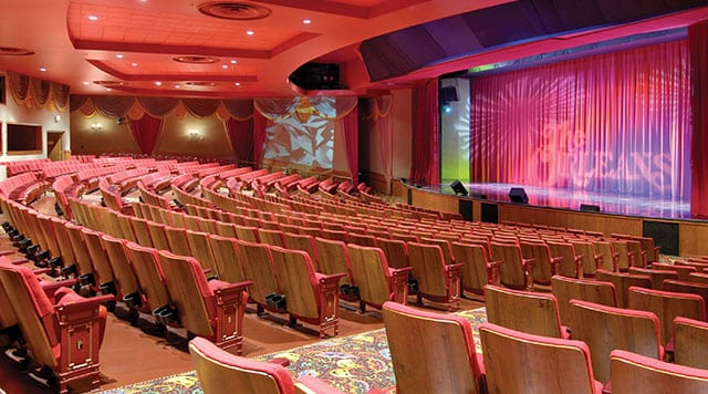 The Orleans Las Vegas The Orleans Showroom