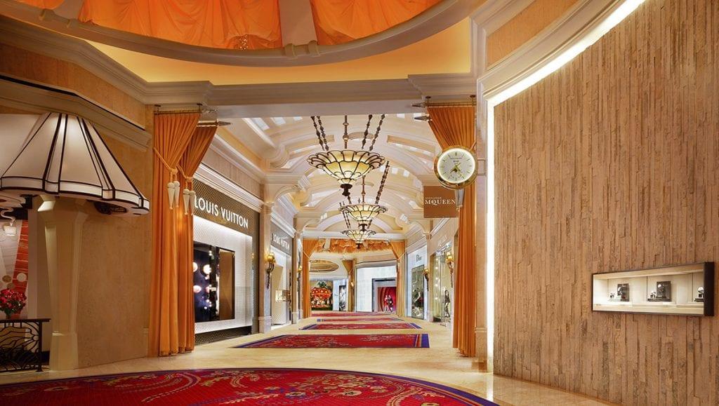 Wynn Hotel and Casino corridor