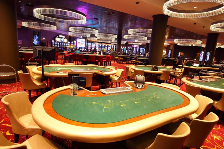 Baccarat big table