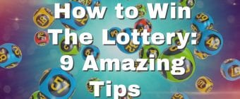 How to win the lottery banner