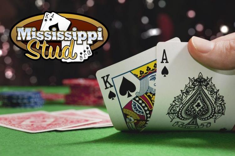 Mississippi Stud Logo & Cards