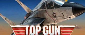 Top gun slot logo