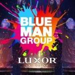 blue man group las vegas logo