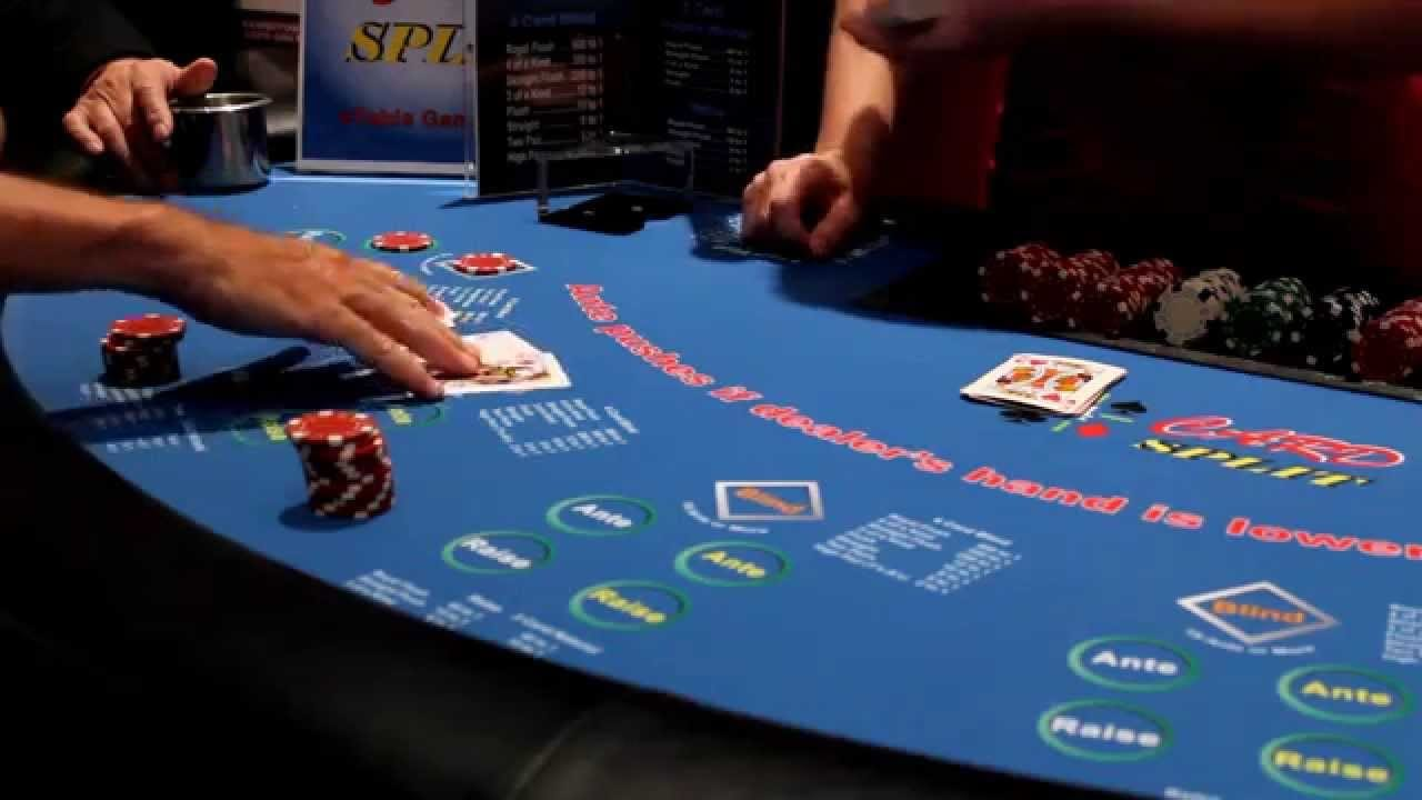 crazy 4 poker live game at a casino