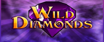 wild diamonds slot logo