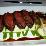edge steakhouse steak sashimi