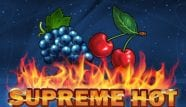 Supreme Hot Slot Machine Logo