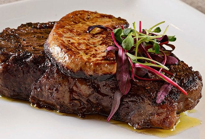 Edge Steakhouse Picture of Steak served hot
