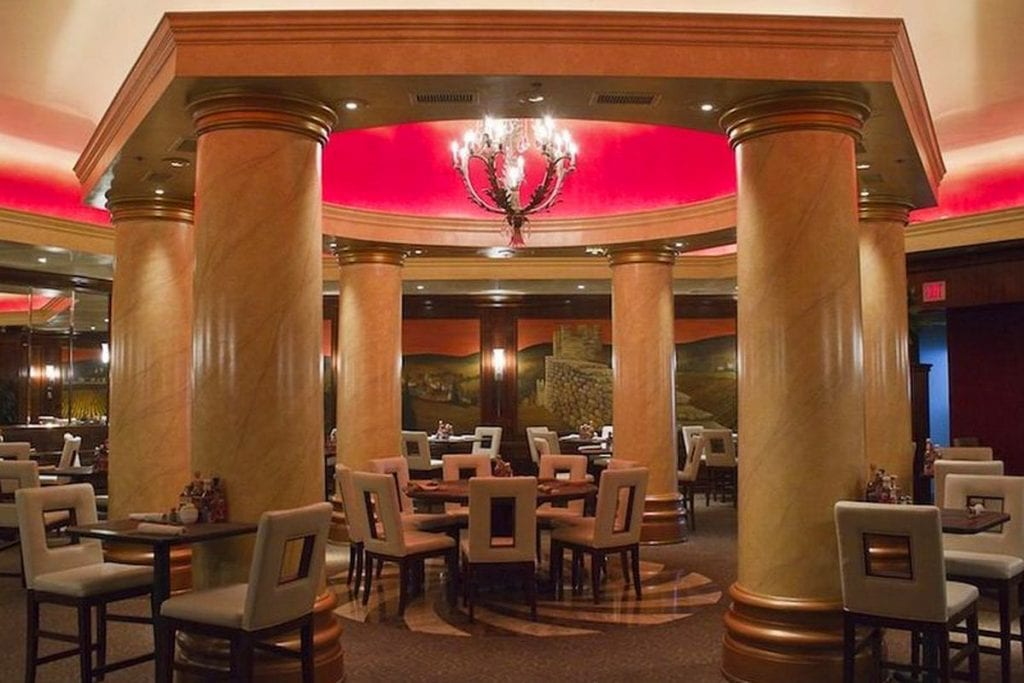 edge steakhouse main hall