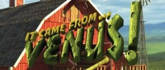 it came from venus slot logo