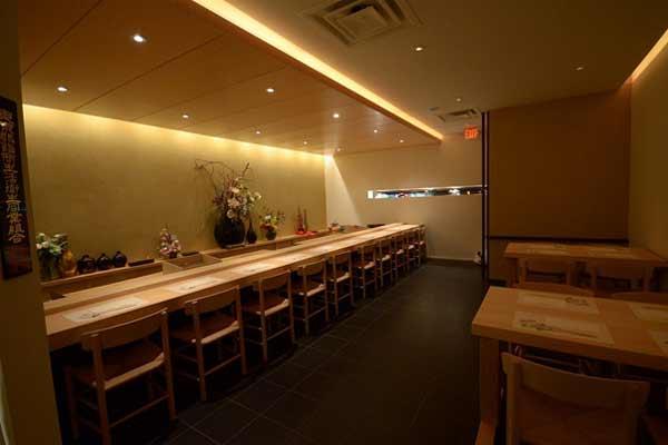 kabuto restaurant main hall