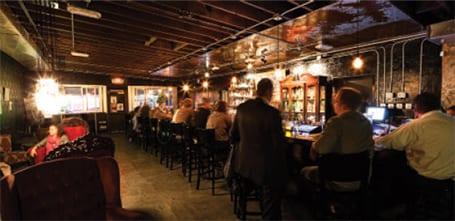 Velveteen Rabbit Las Vegas people having drinks at bar