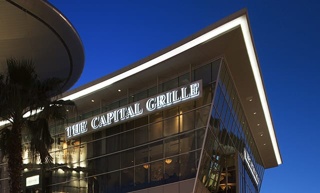 capital grille las vegas