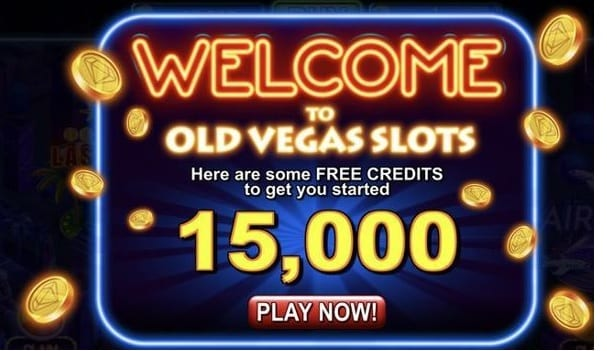 Old Vegas Slots Welcome Bonus screenshot