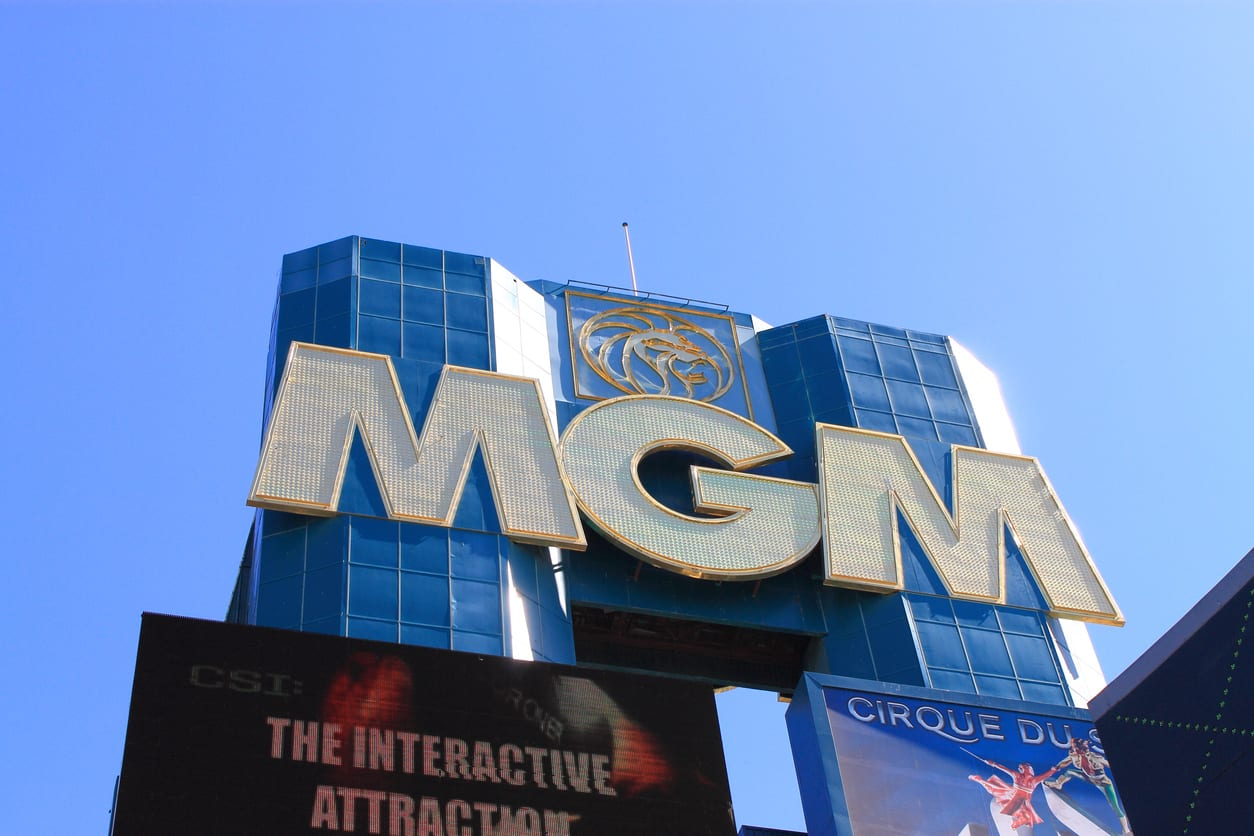 MGM Hotel and Casino on the strip