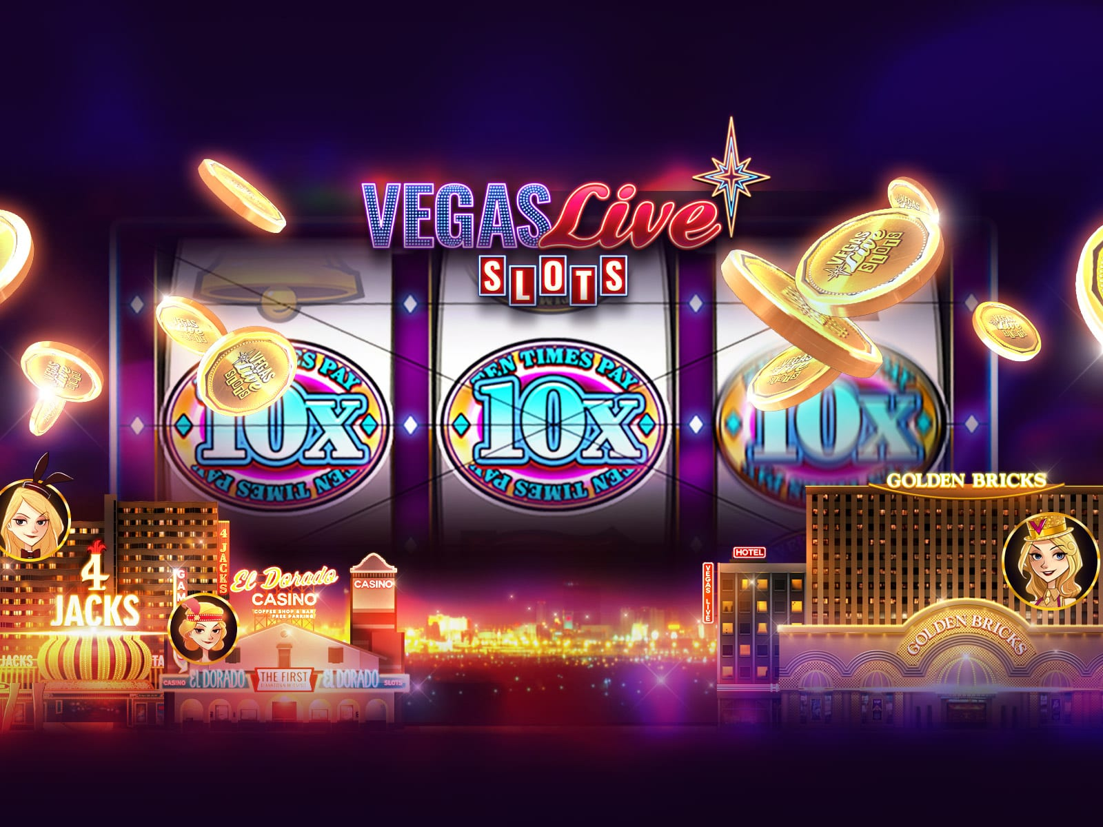 vegas live slots - virtual slot machine