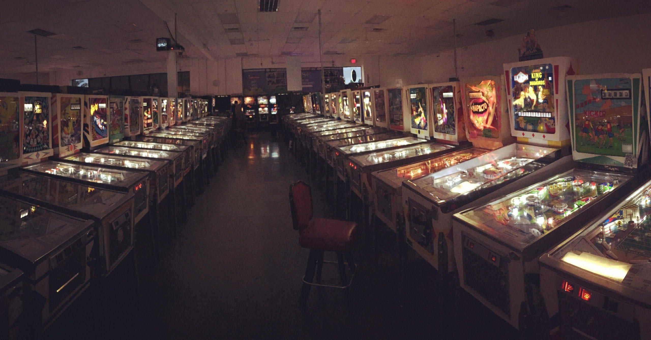 Pinball Hall of
