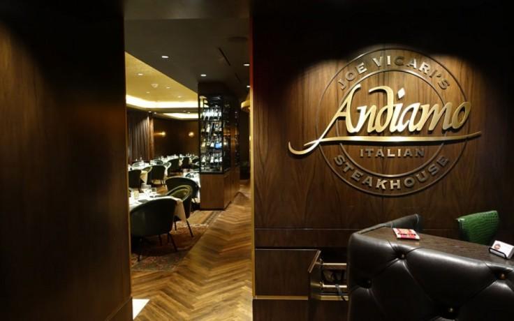 image of Andiamo Italian Steakhouse entrance