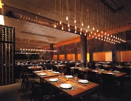 image of Craftsteak big table with ambient lights