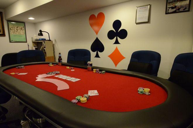 meja poker permainan rumah